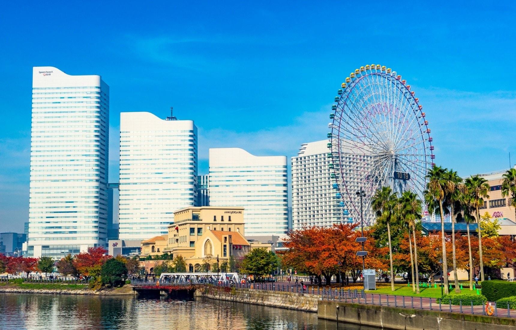 แหล่งท่องเที่ยวในโยโกฮาม่า