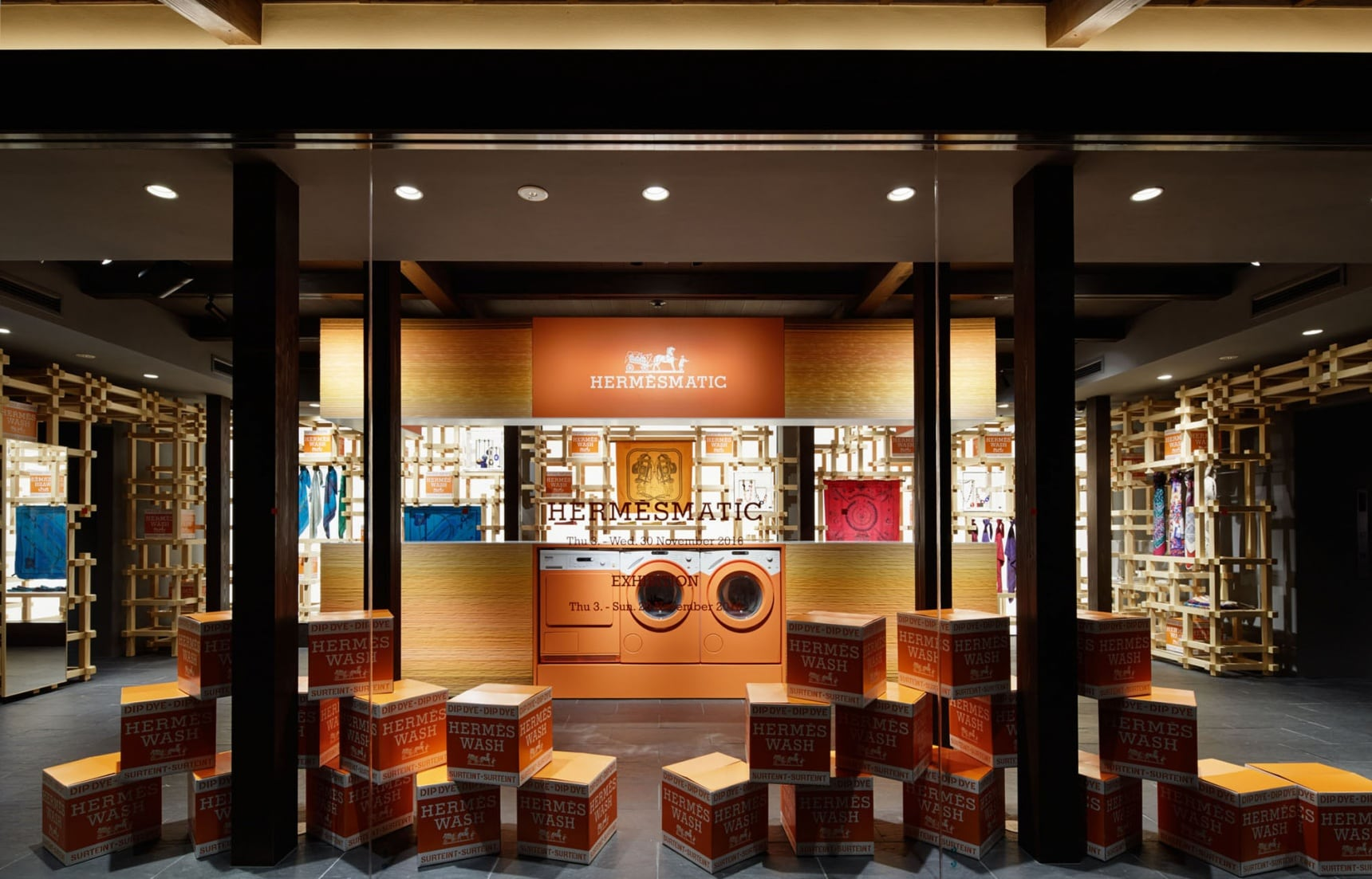 在京都邂逅法式柔情蜜意 |愛馬仕 HERMÈS 期間限定店舖【HERMÈS祇園店】