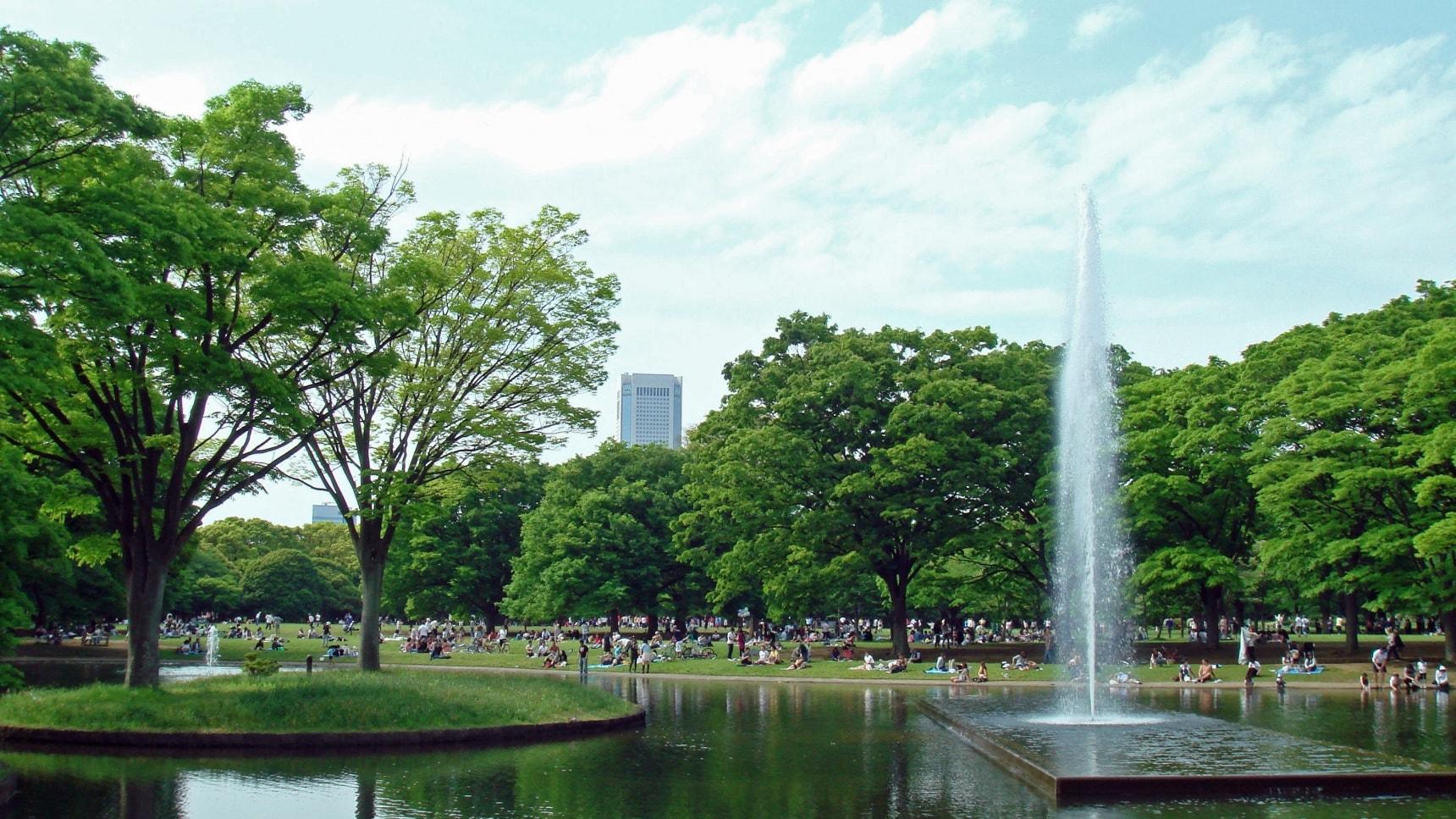 5 อันดับสวนสวย ปอดของโตเกียว
