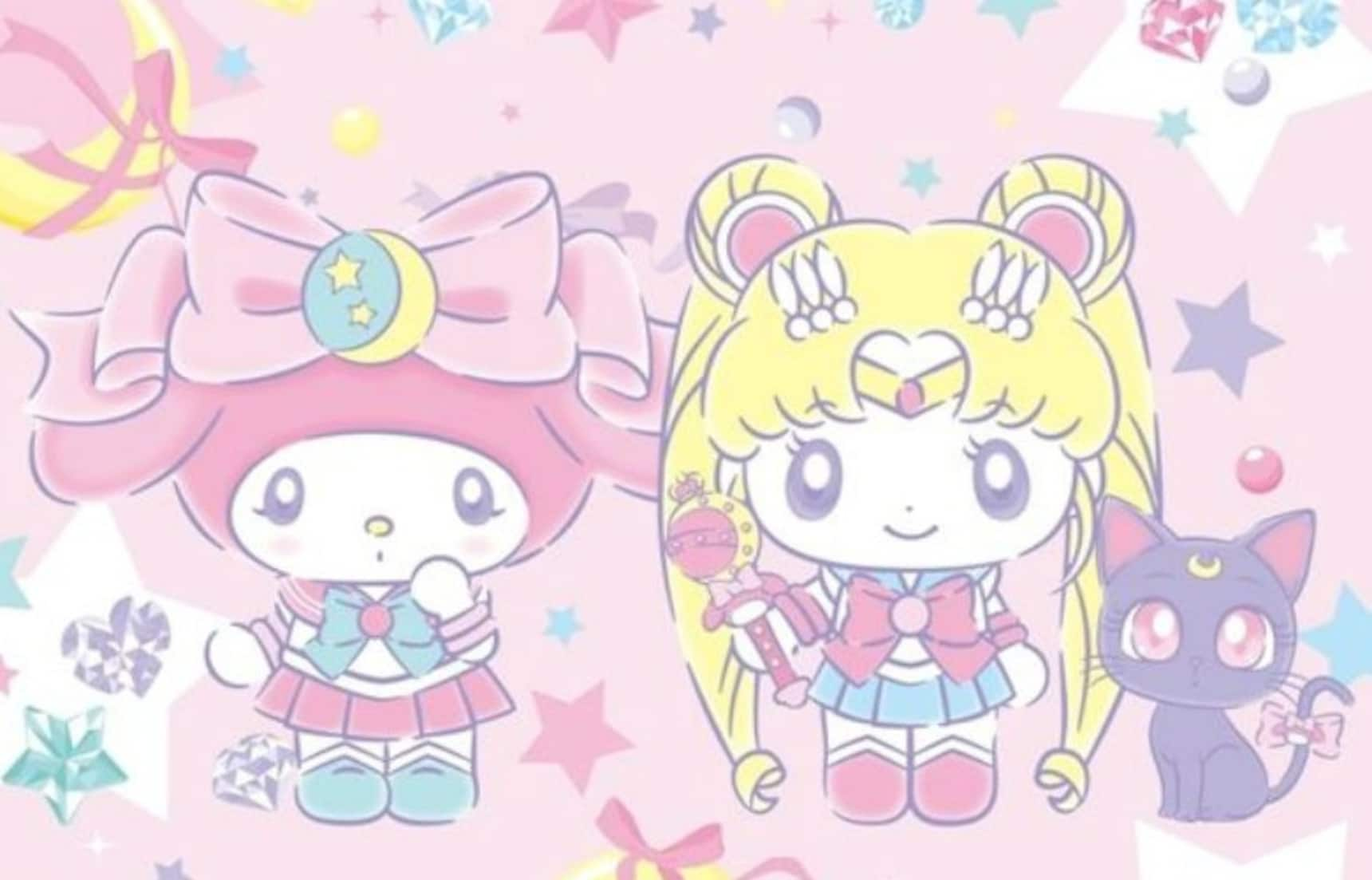 Sanrio & Sailor Moon Collab Goods Are Here