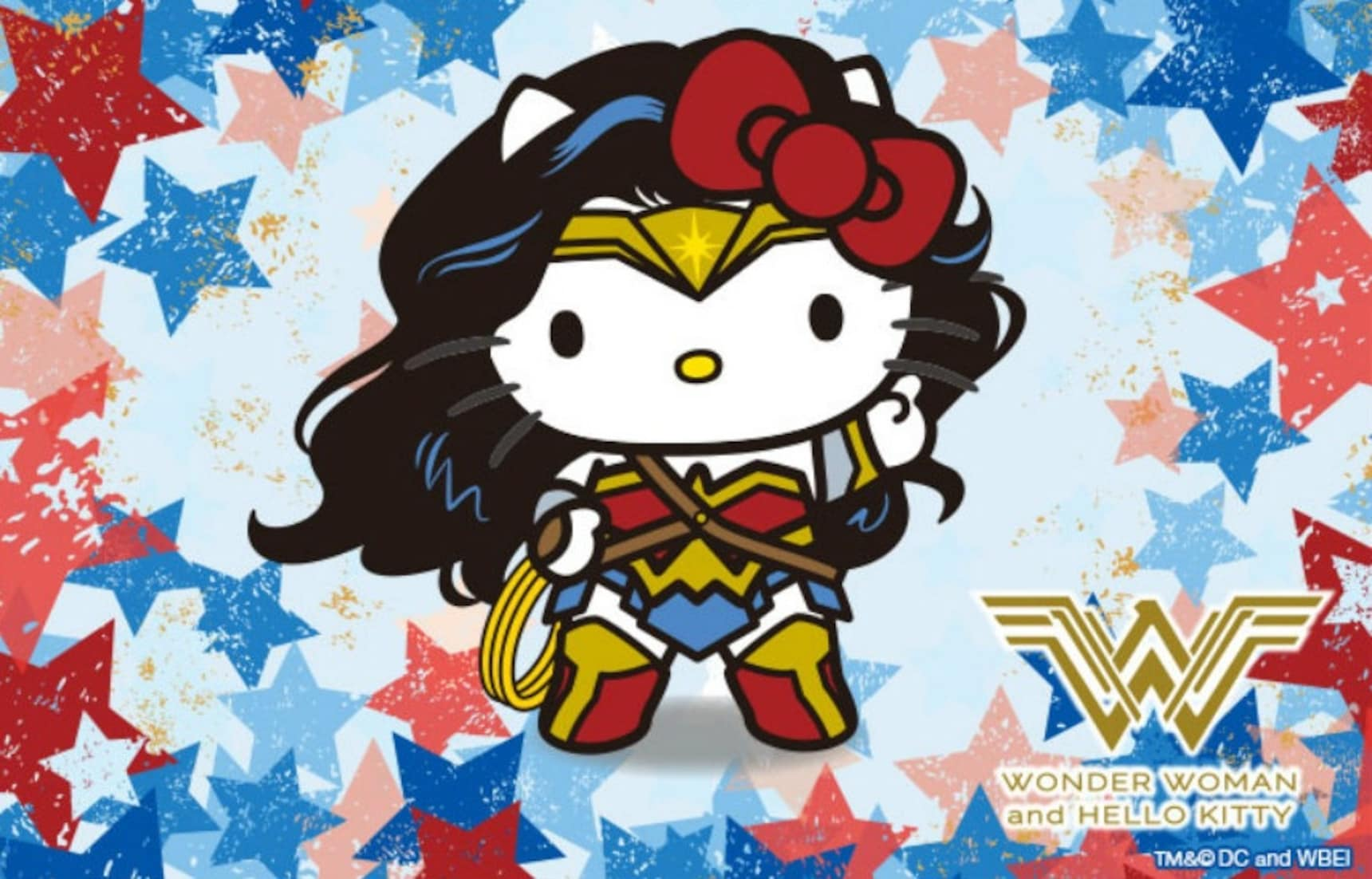Wonder Woman & Hello Kitty Finally Join Forces
