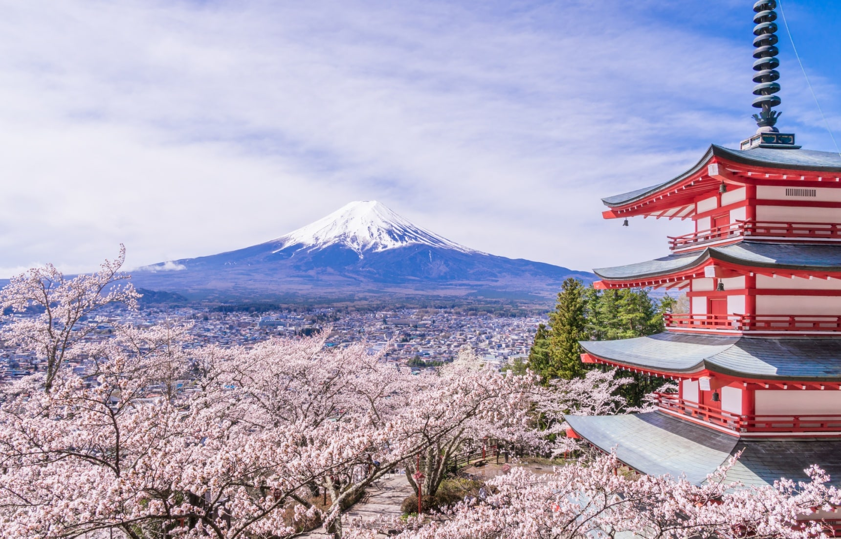 The Shrine with the Best View of Mount Fuji