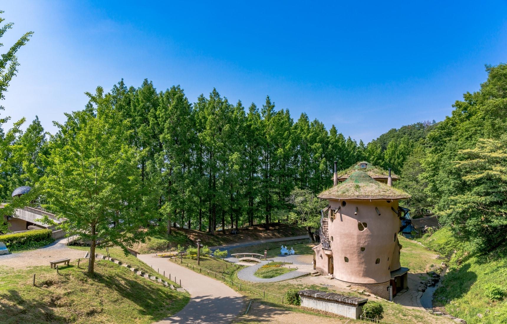 日本亲子自驾游来这里就对了!被大自然与森林包围的噜噜米主题公园