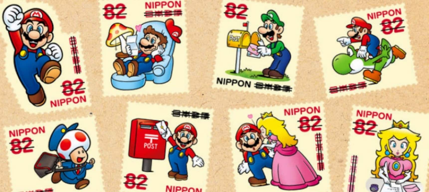 Get the Mario Seal of Approval with New Stamps