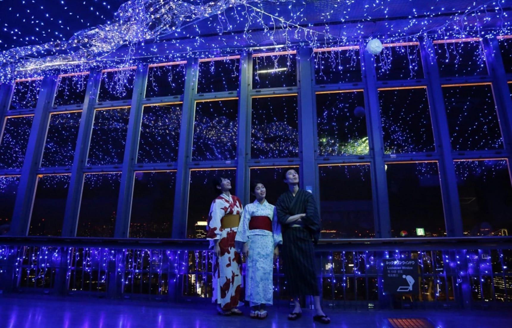 Celebrate Tanabata at Tokyo Tower