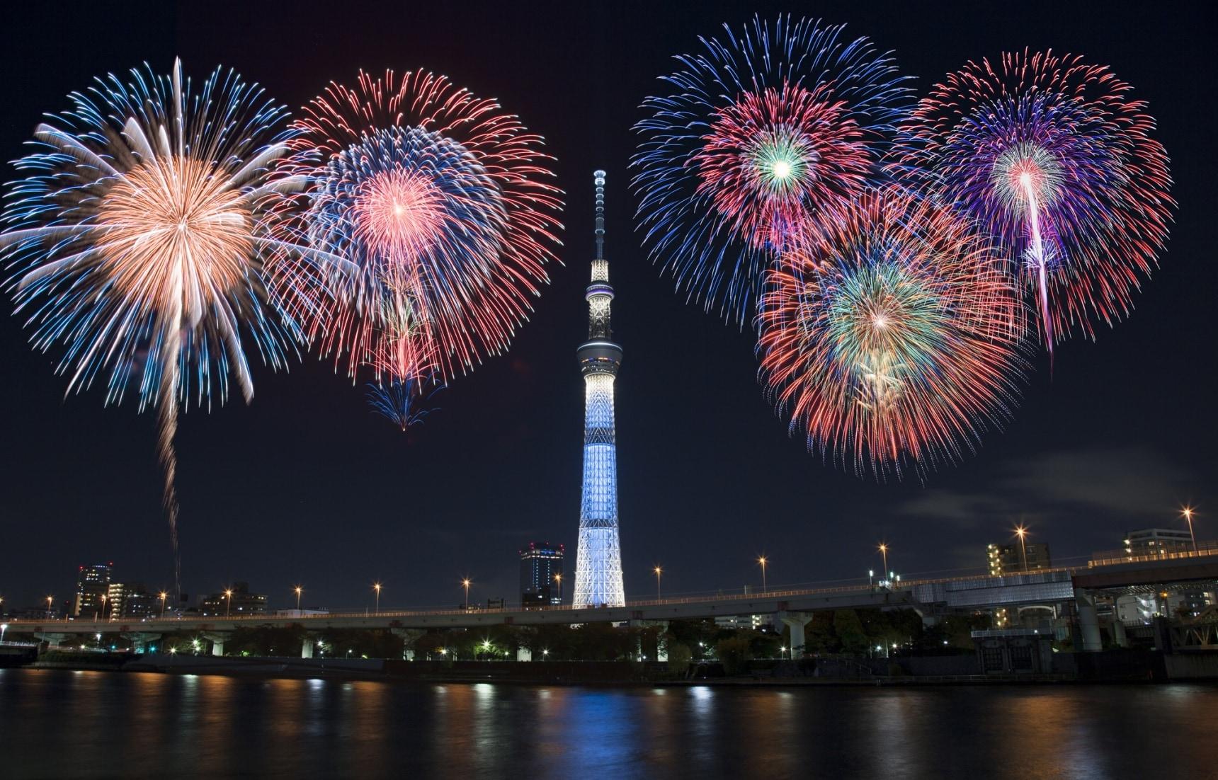 3 Hot Tokyo Fireworks Festivals