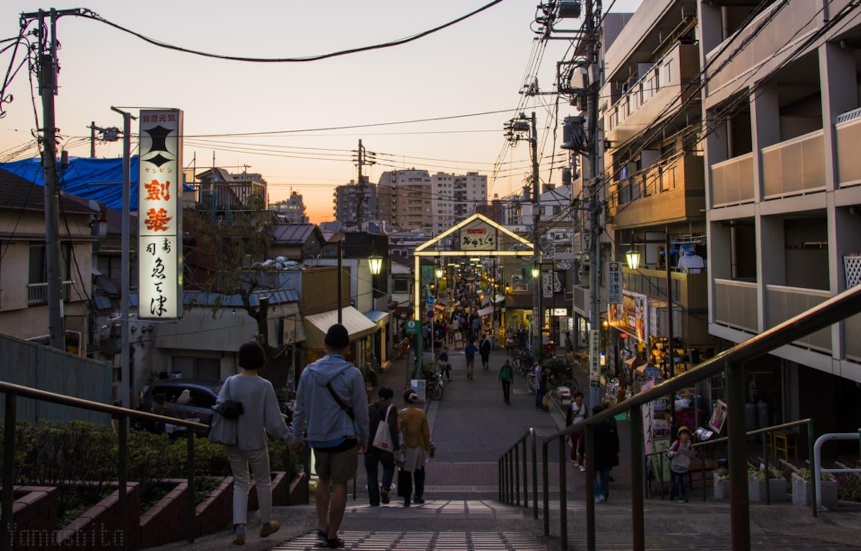เที่ยว Yanaka Ginza ย่านลับแห่งโตเกียว