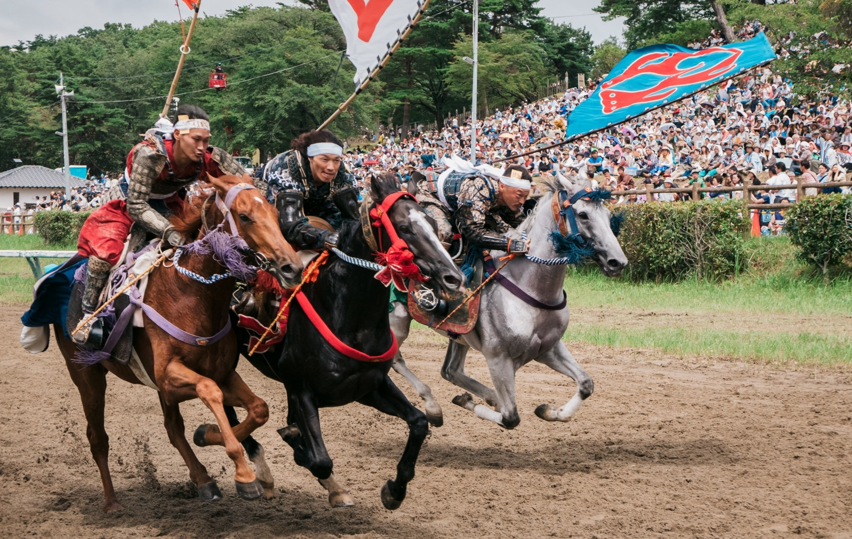 Hoof It to Soma-Nomaoi Festival in Fukushima