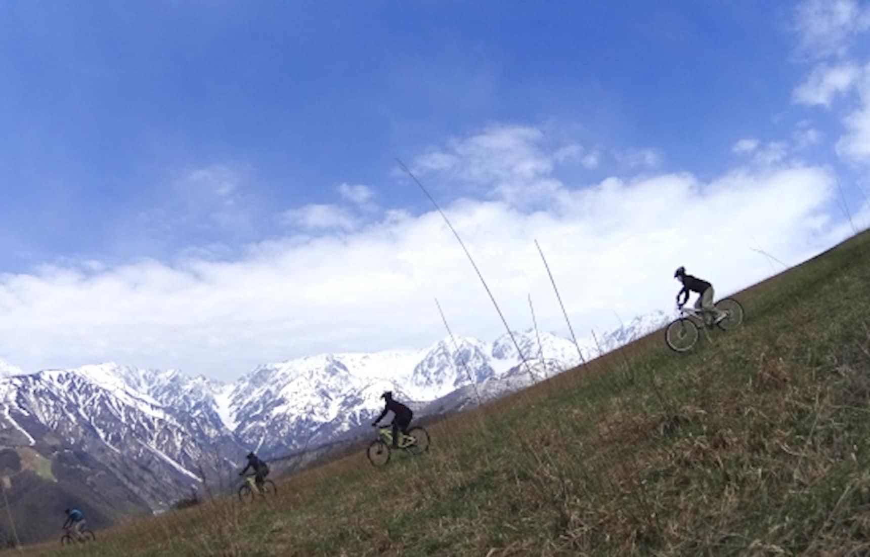 Go Downhill Mountain Biking in Gunma & Nagano