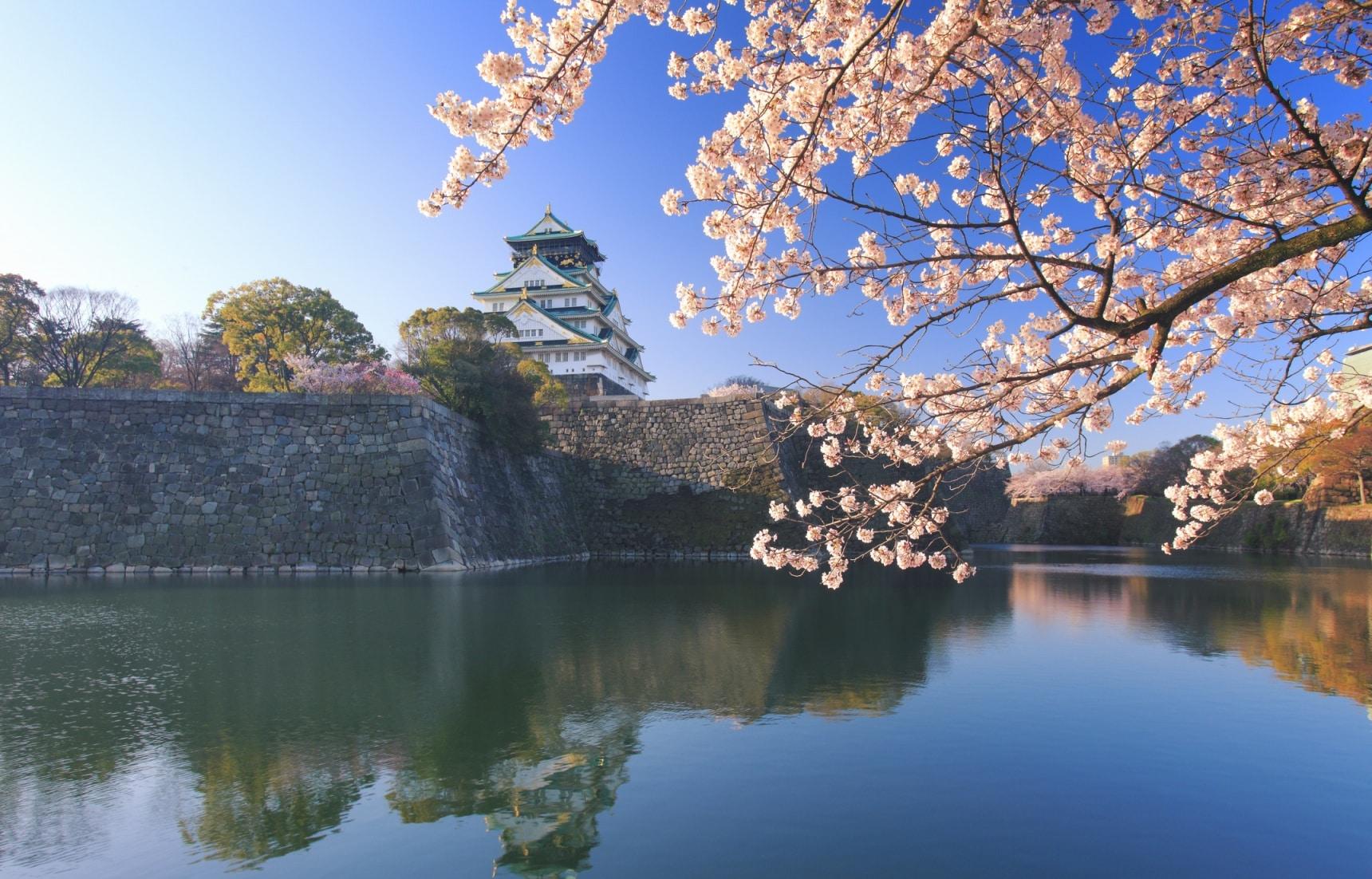 รู้รอบเรื่องปราสาทโอซาก้า Osaka Castle