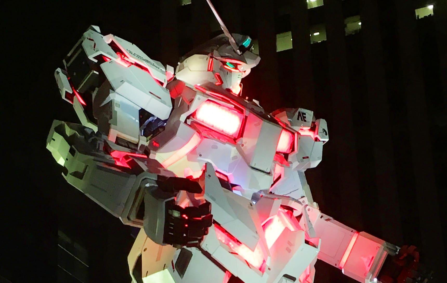 เปิดตัวกันดั้มยักษ์ตัวใหม่ RX-0 Unicorn!