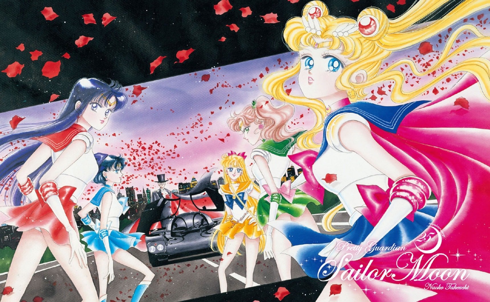Sailor Moon & Senshi Squad to Grace Postcards