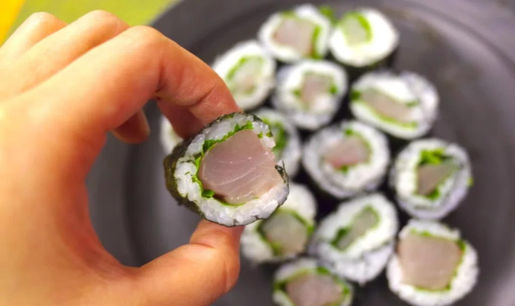 Why Is This Sushi Roll White Instead of Red?