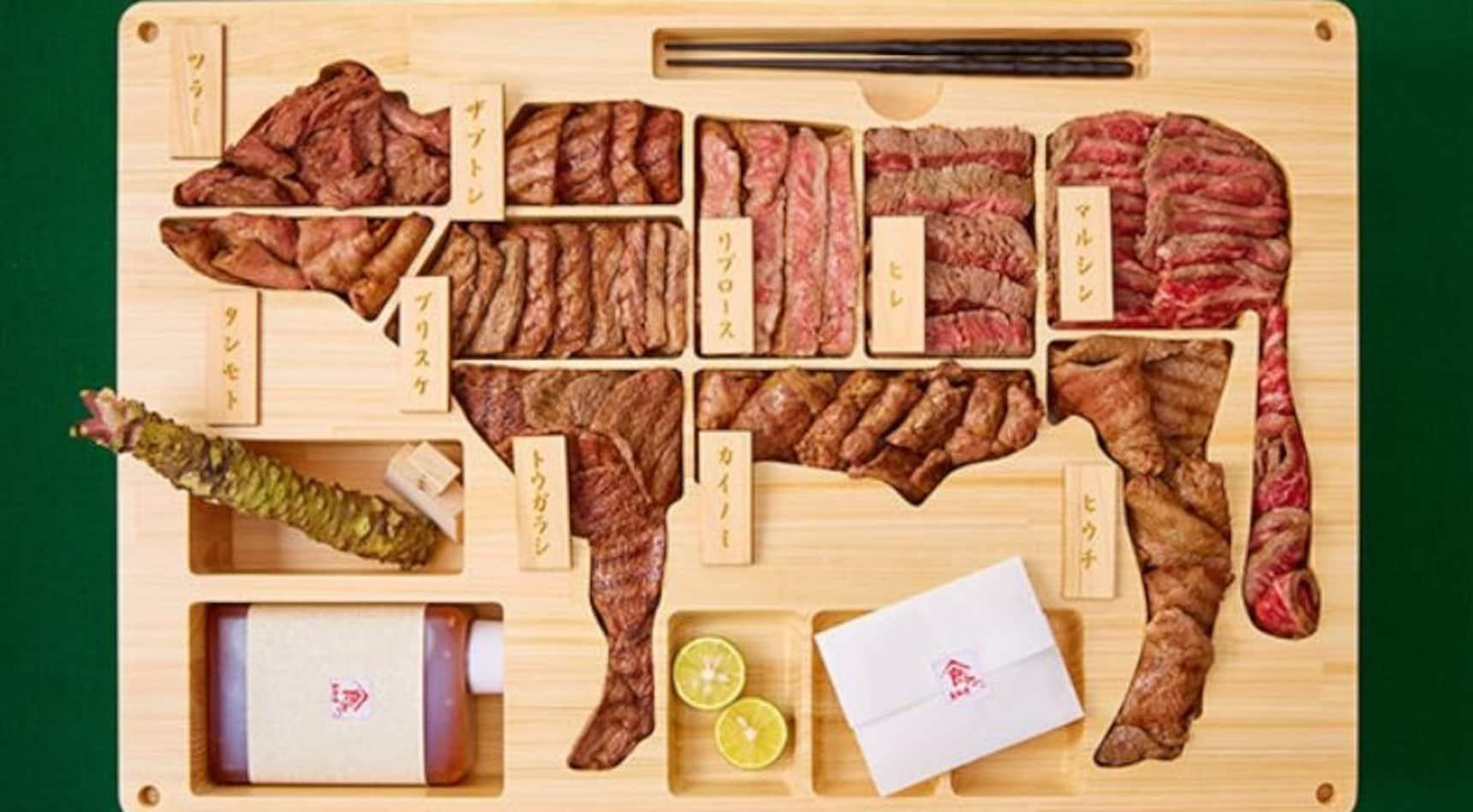 Behold: the Ultimate Wagyu Beef Bento!