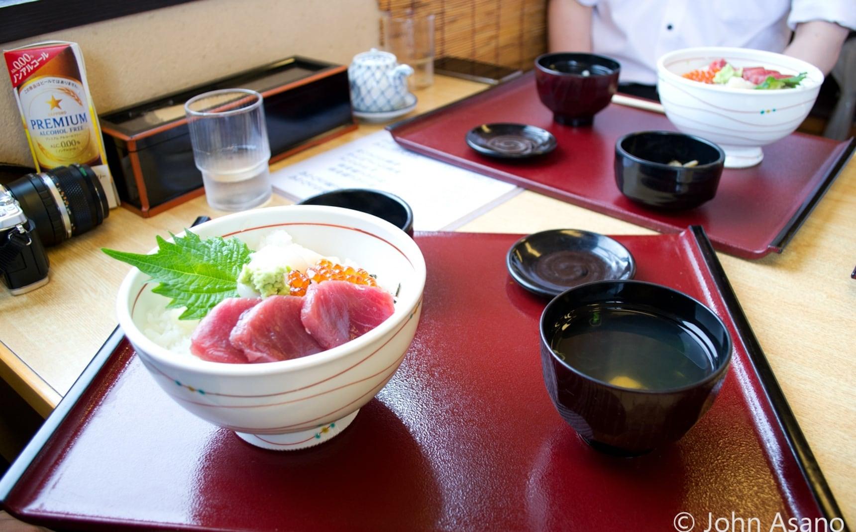 Sampling the Food of Miyagi