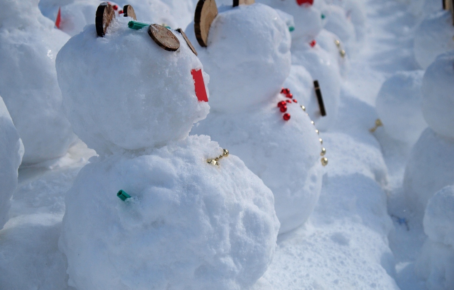 3 Very Japanese Snow Creatures