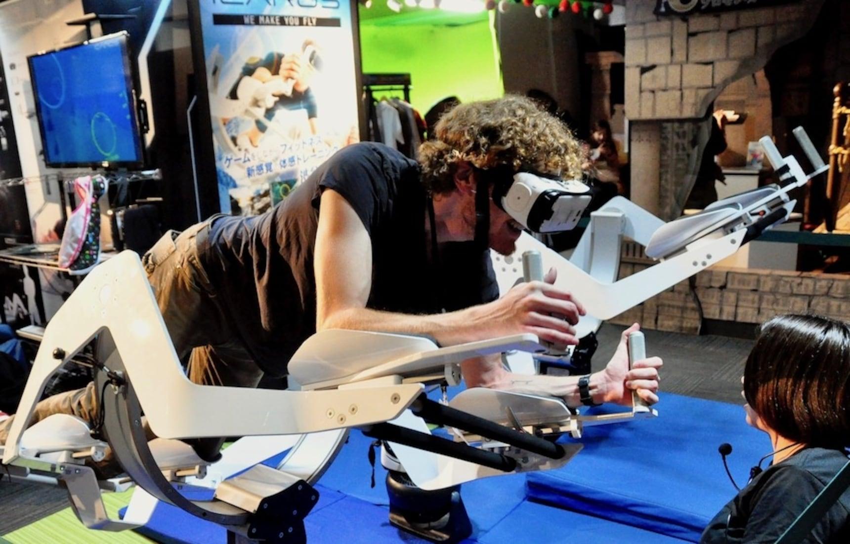 'VR 파크 도쿄'에서 새로운 세계로 떠나자