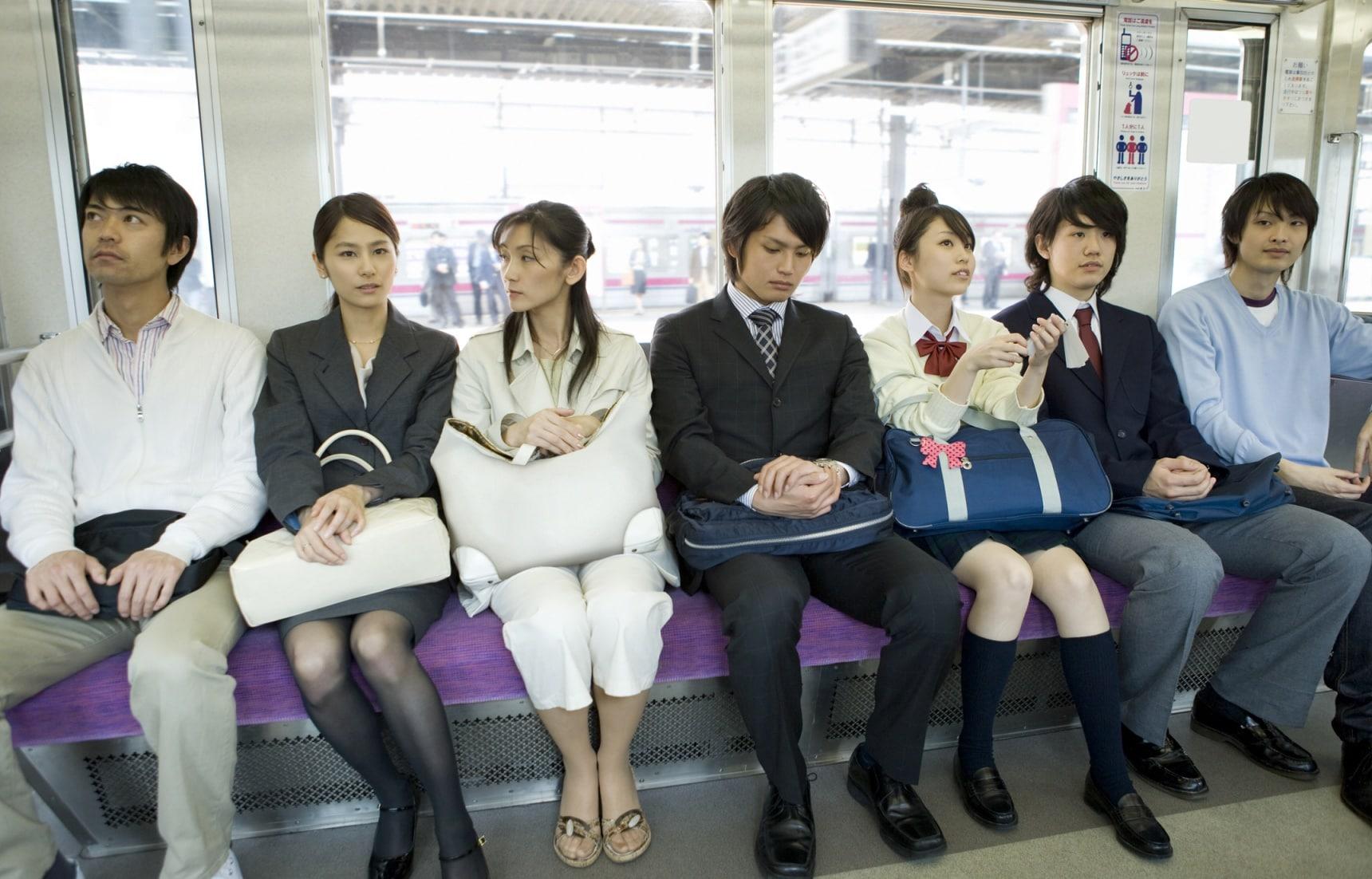 รวมเทคนิคการขึ้นรถไฟแบบคนญี่ปุ่น