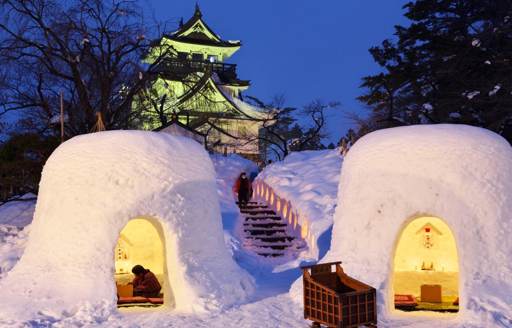 冬日必訪!魅力滿載的東北五大雪祭