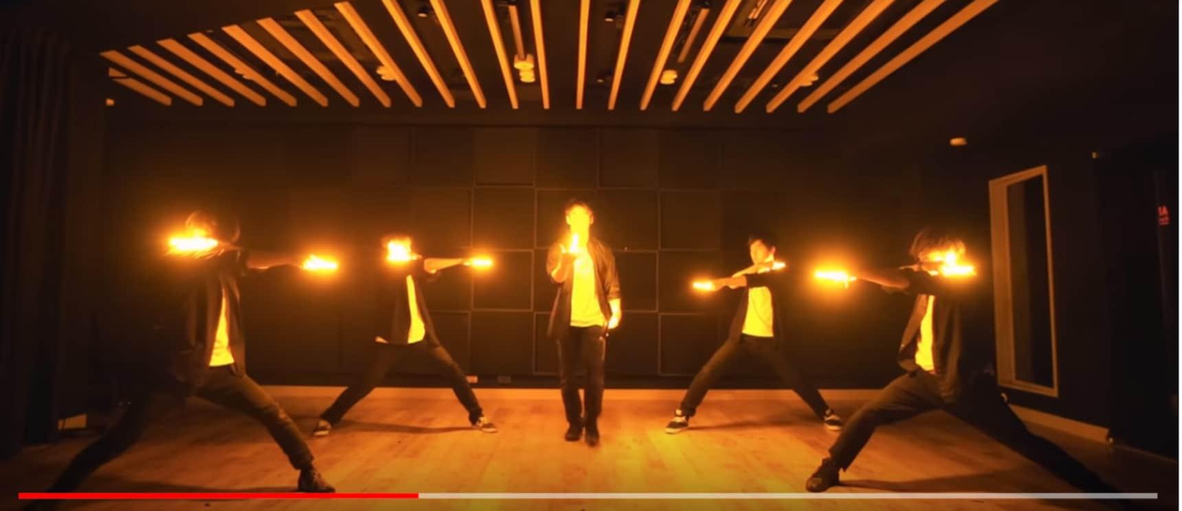 '오타게이'로 밝히는 어둠!