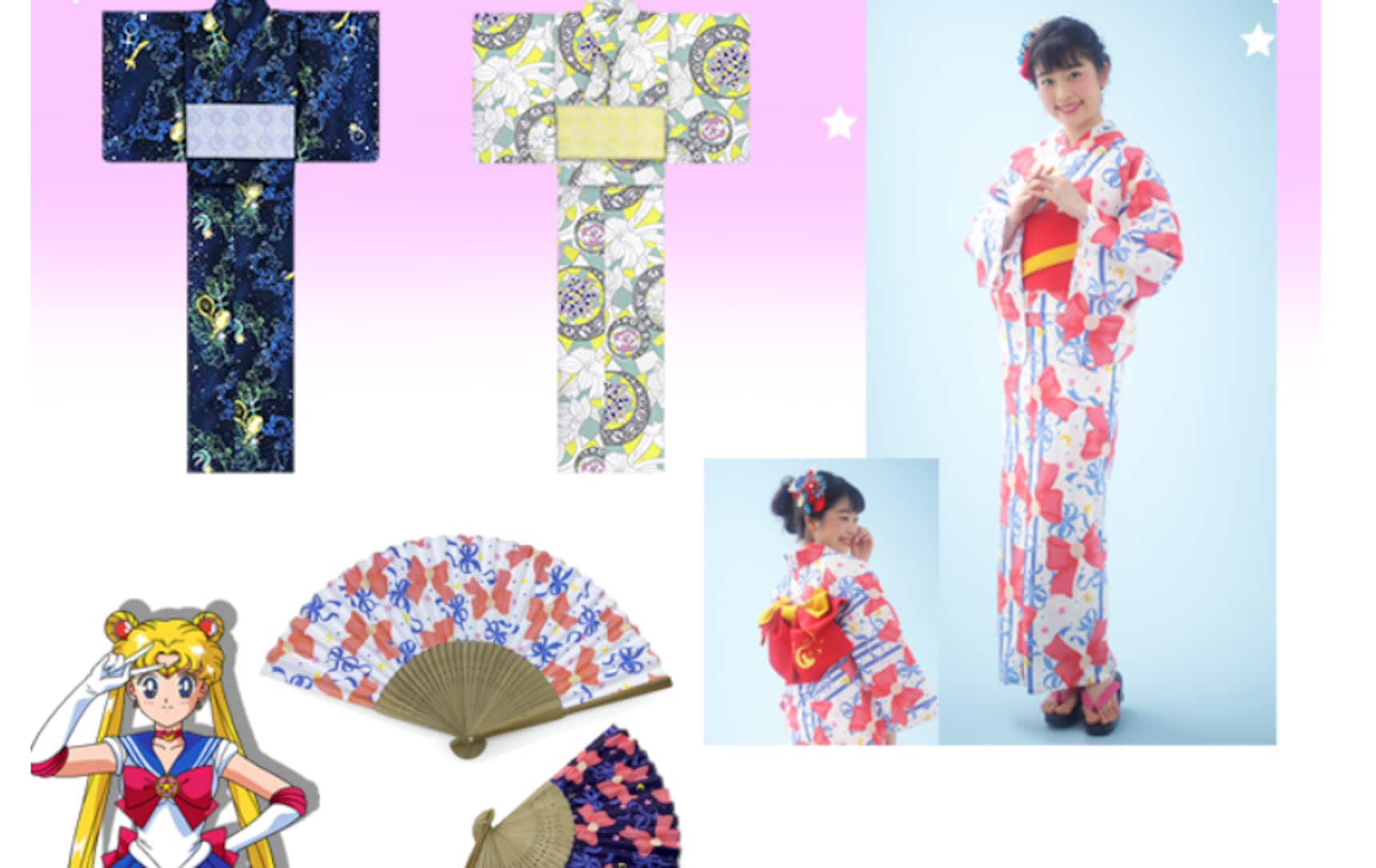 Get Ready for Summer with Sailor Moon Yukata