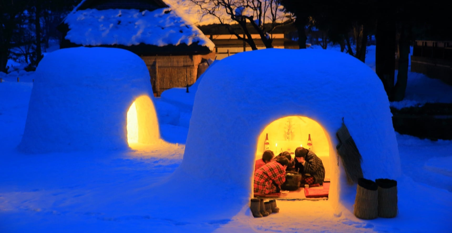 How to Build a Full-Scale Japanese Igloo