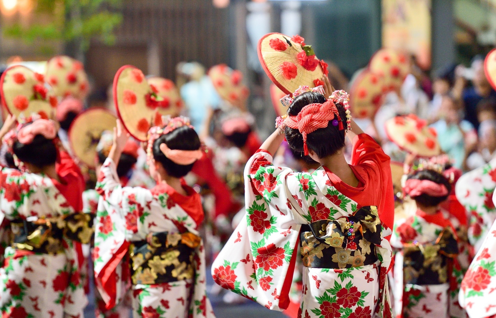 Hanagasa Matsuri: Grab Your Flower Hat!