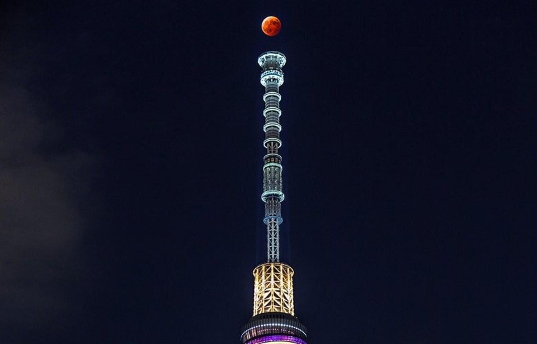 Super Blue Blood Moon Lights Up The Sky
