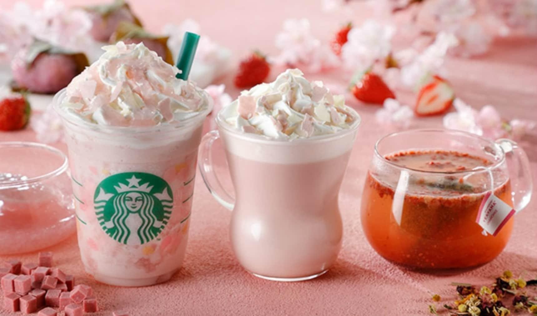 Starbucks Unveils 2018 Sakura Drink Line