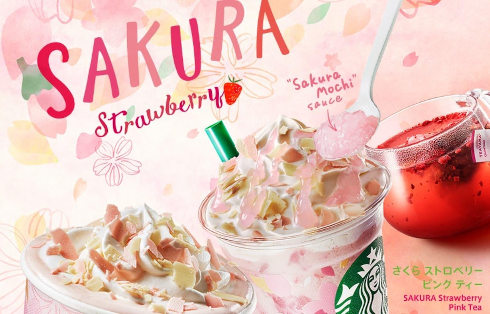 2018년도 일본 스타벅스 '벚꽃' 컬렉션 출시!