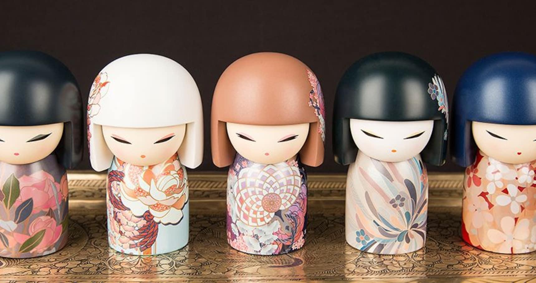 기모노 인형, 각양각색의 가치를 담아내다!