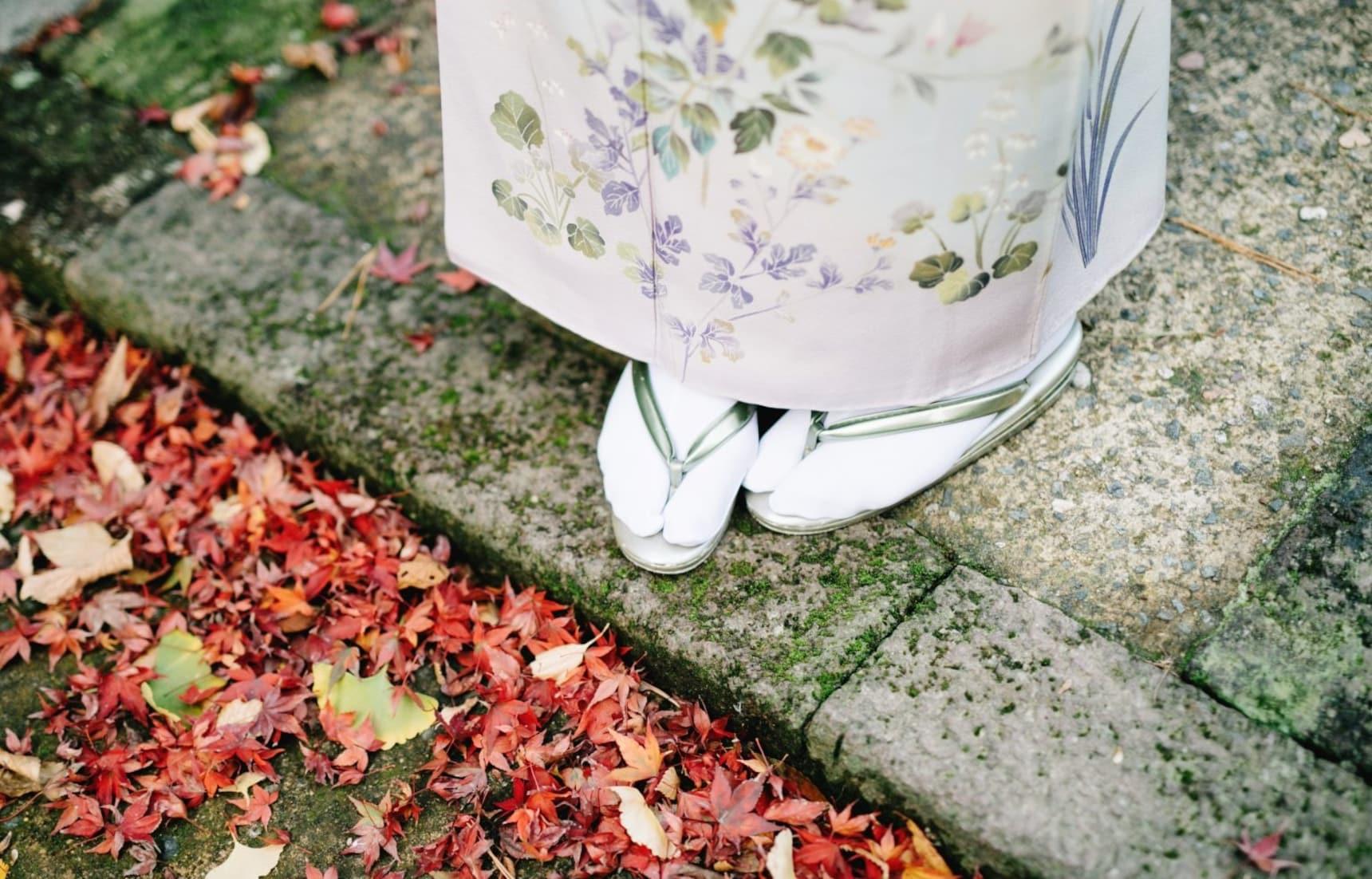 기모노 착용법: 여자편