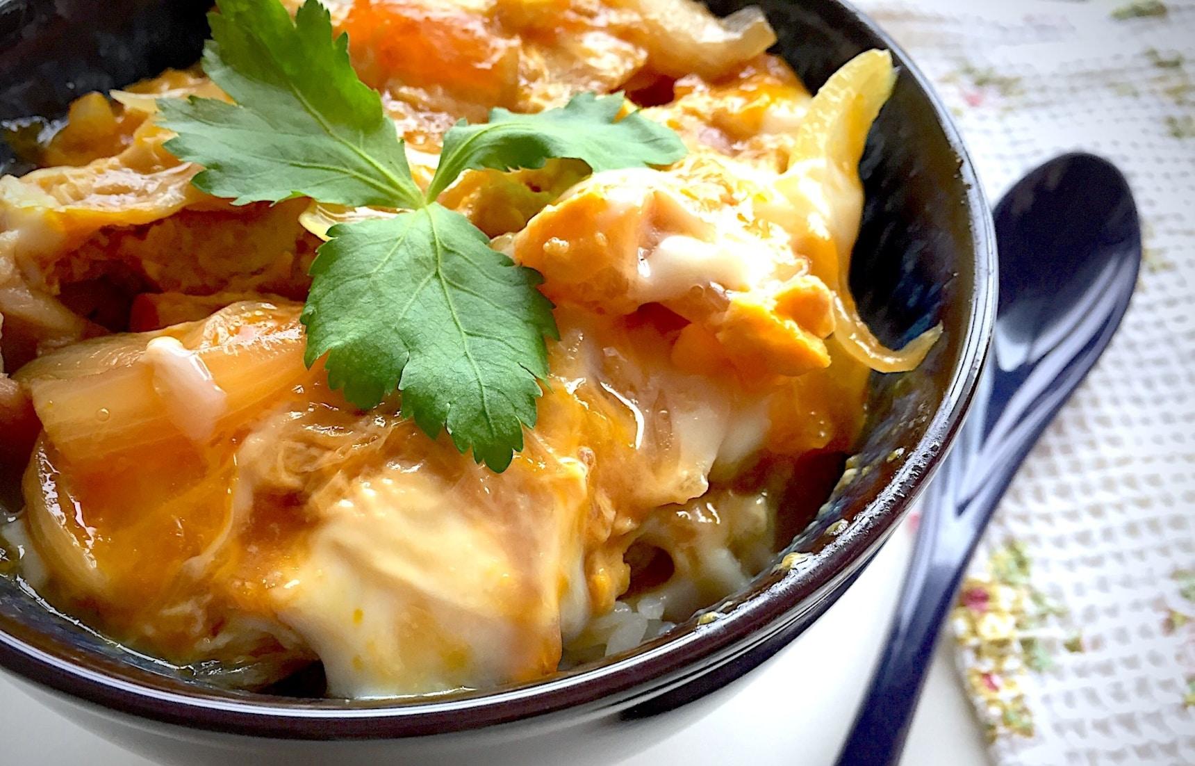สูตรโอยาโกะด้ง ใส่ไข่เยิ้มๆแบบญี่ปุ่นแท้ๆ