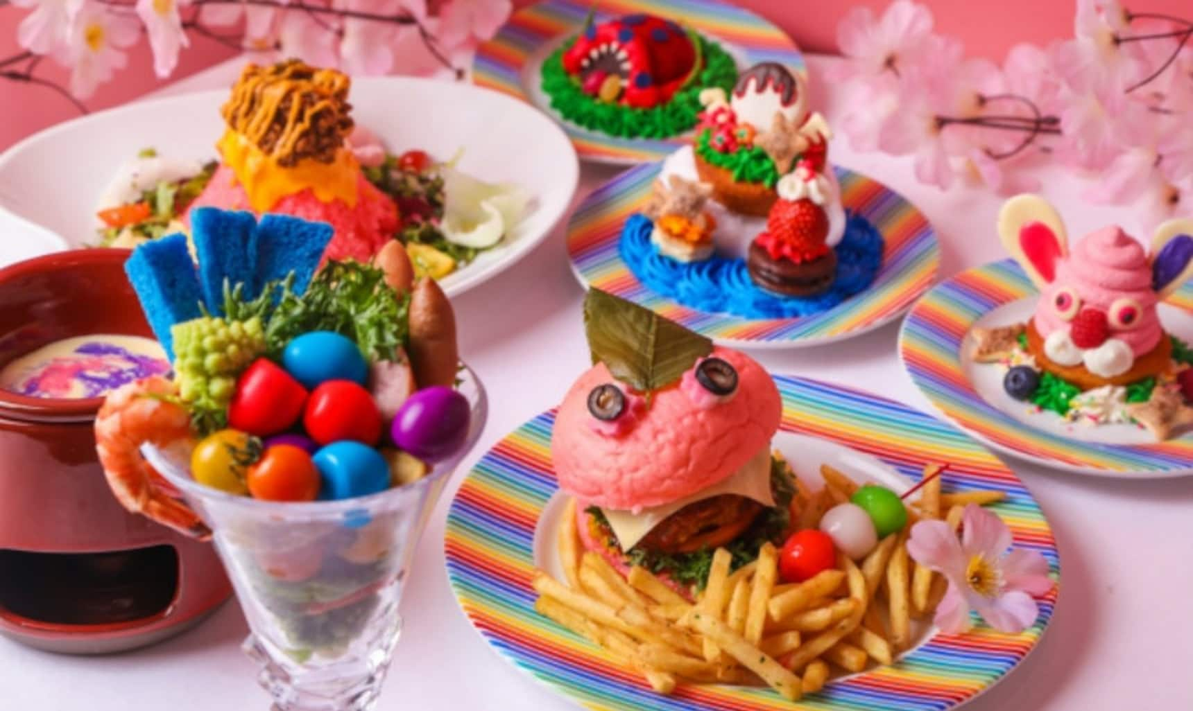 Springtime Hits Kawaii Monster Café