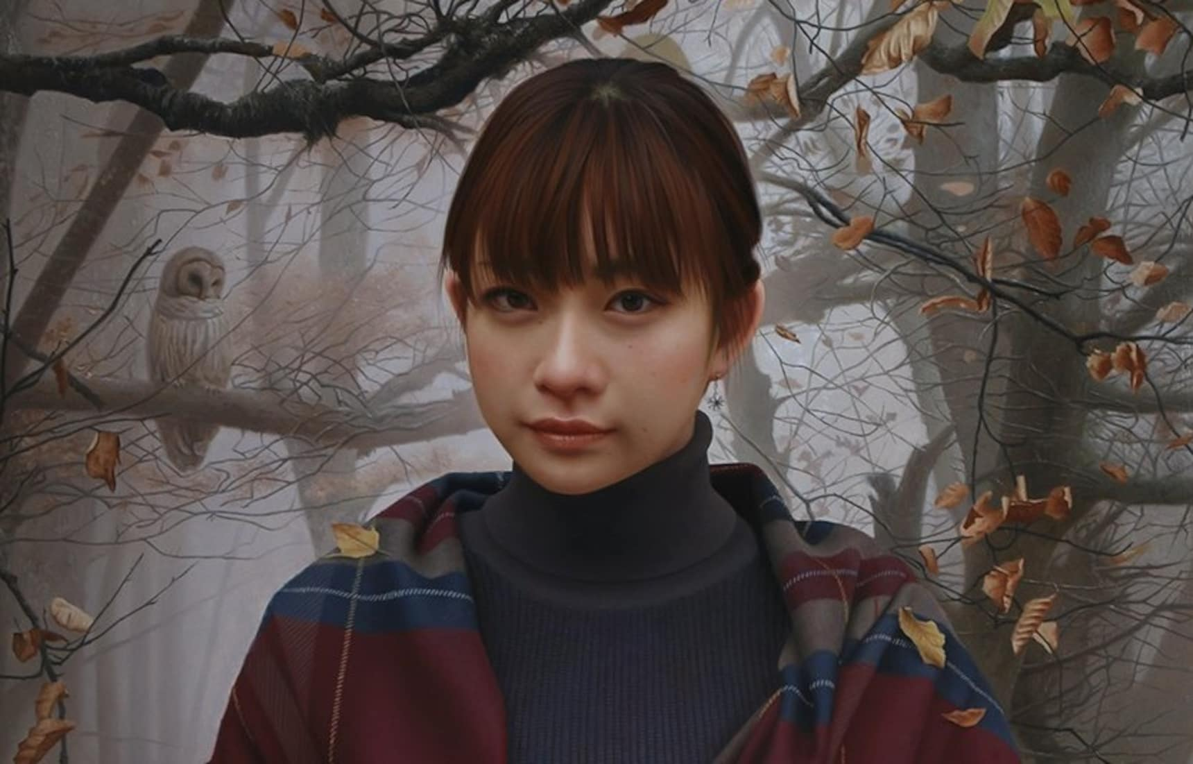 Japanese Painter Creates Photo-real Portraits