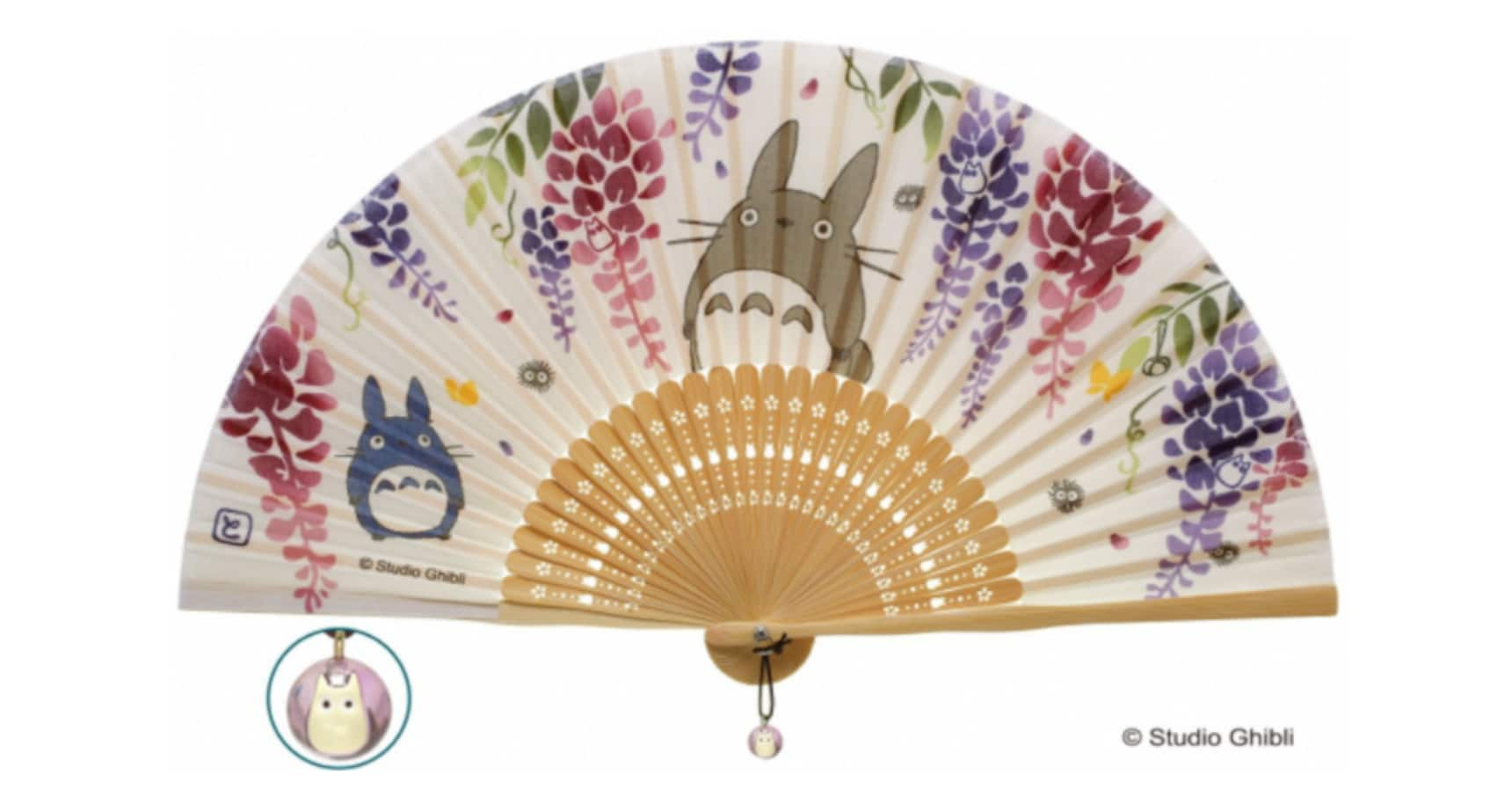 Cool Off in Summer with Ghibli Folding Fans