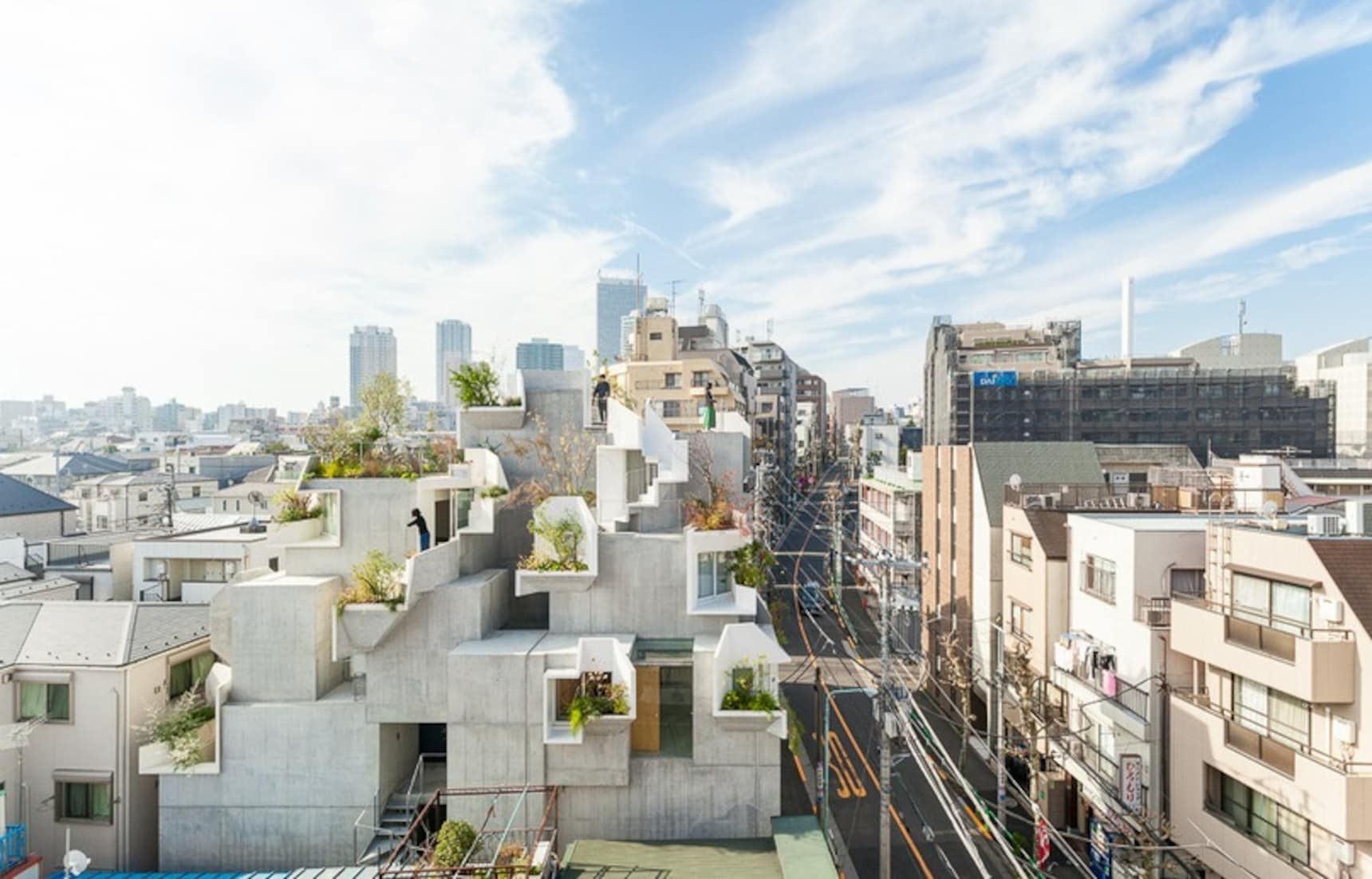 Architect Designs 'Tree House' in Tokyo