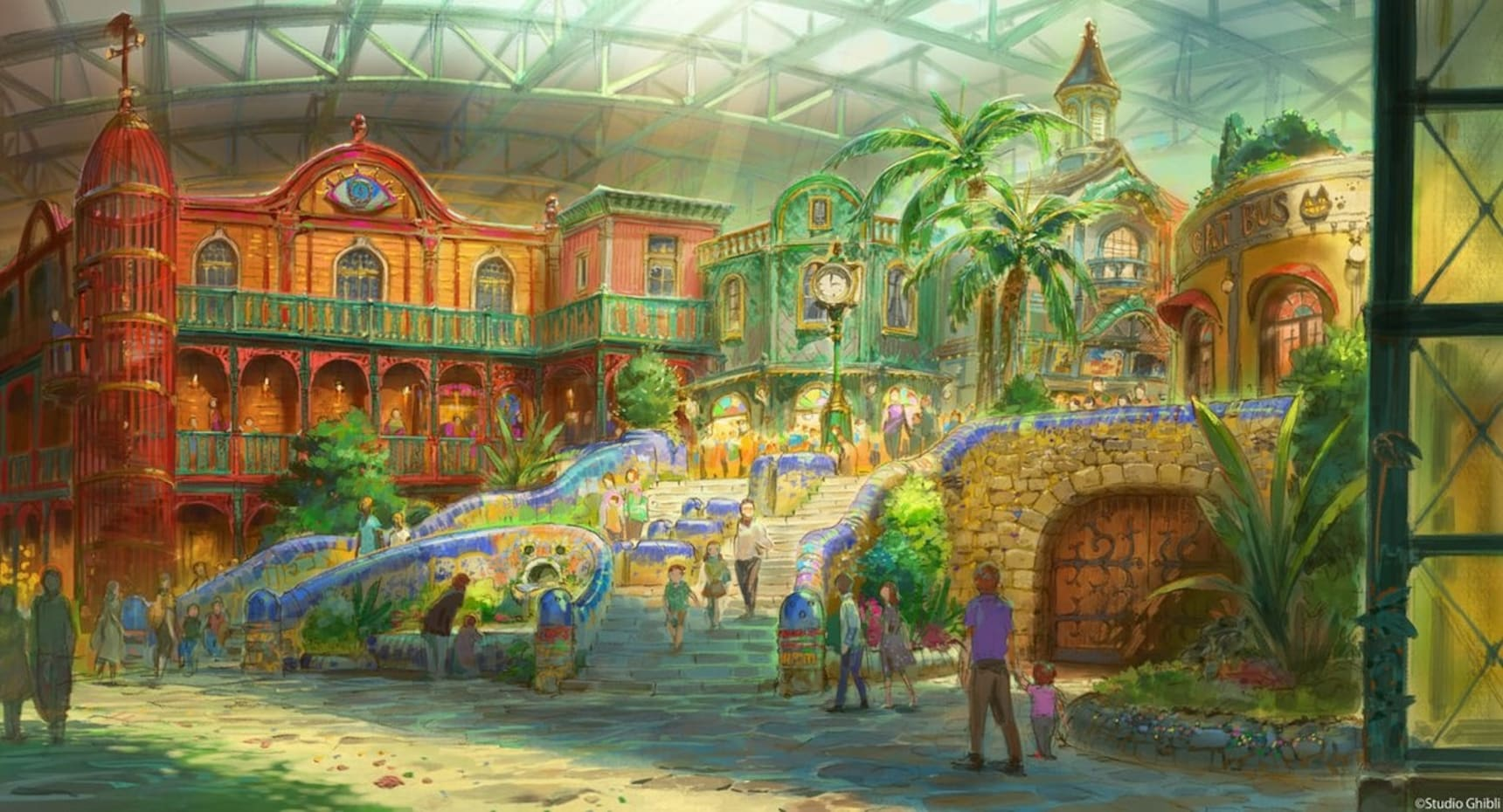 Take a Peek at Ghibli Theme Park Concept Art!