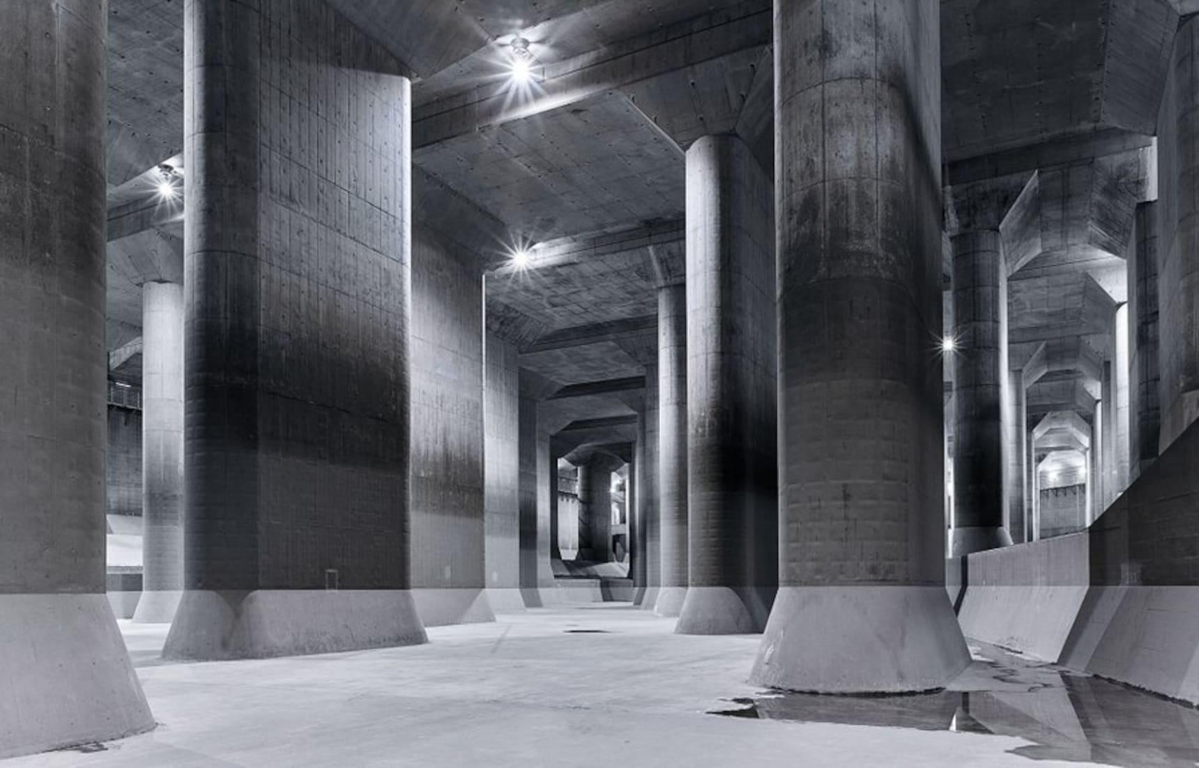 Explore an 'Underground Temple' Near Tokyo