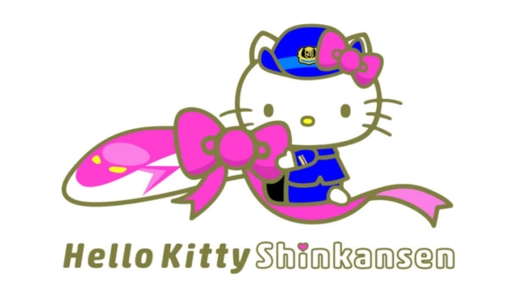 Get a Glimpse of the Hello Kitty Shinkansen!