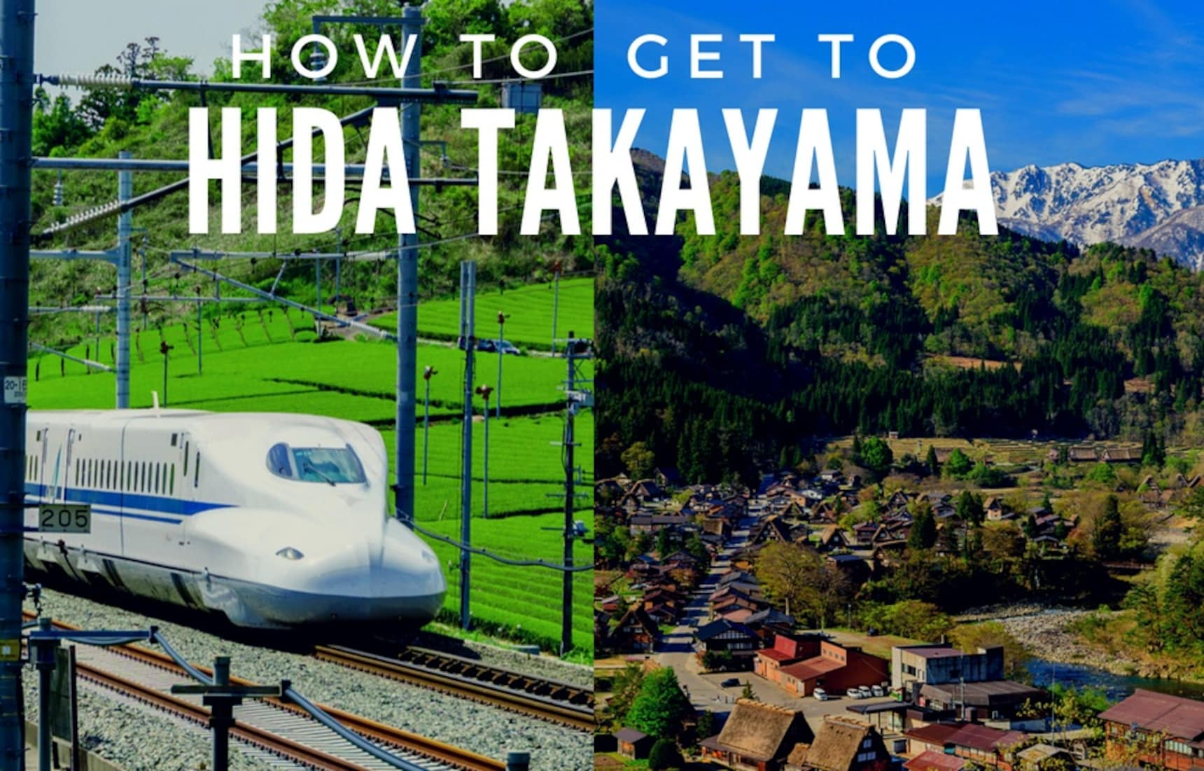 How to Get to Hida Takayama