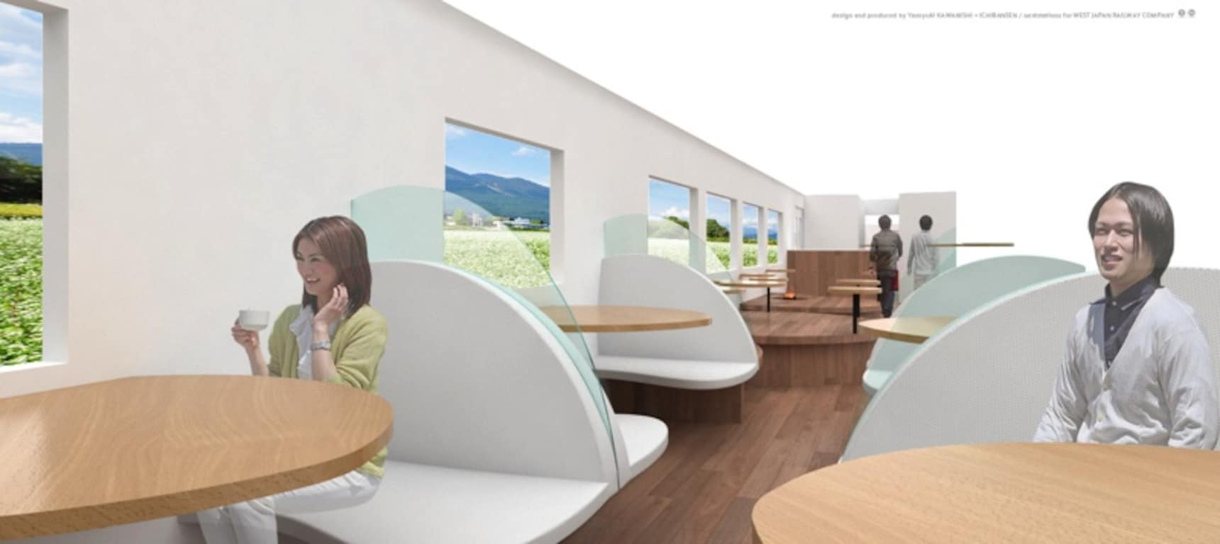 All Aboard This Luxurious New Shinkansen