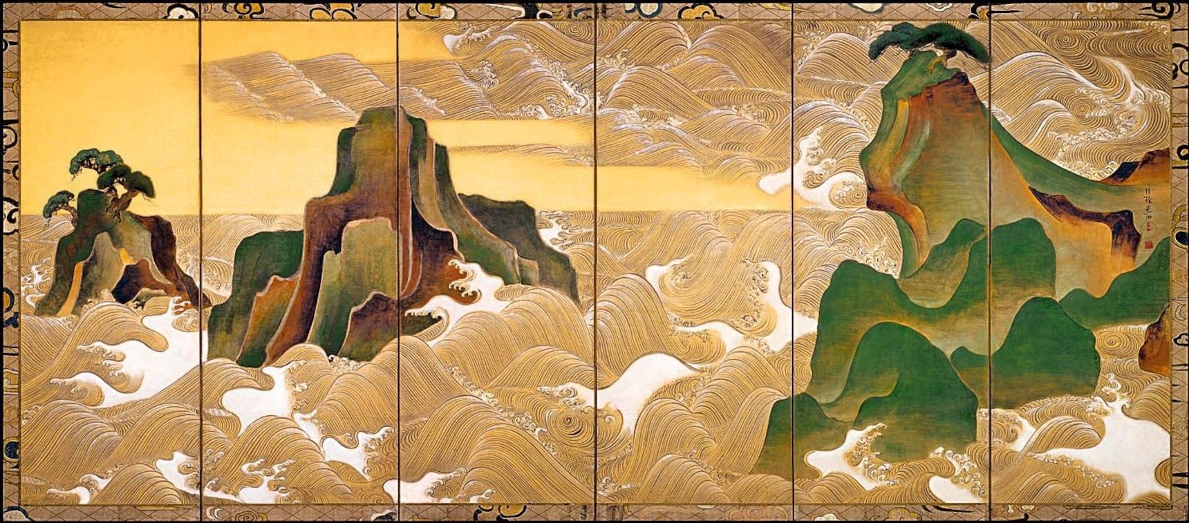일본 상식: 장식화 파의 대가, 오가타 고린