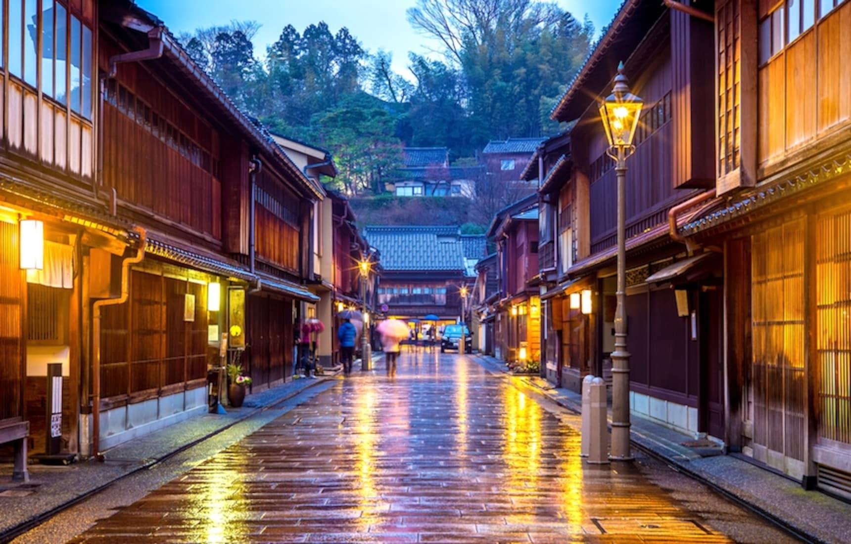 고즈넉한 분위기의 도시, 카나자와