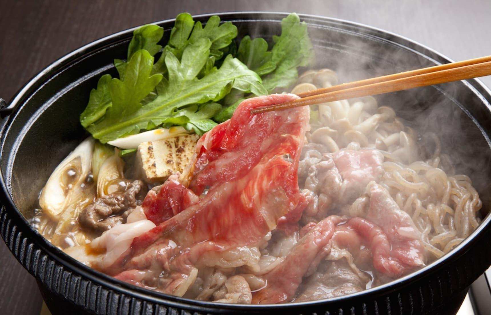 무더위 보양식으로 일품인 일본식 전골요리