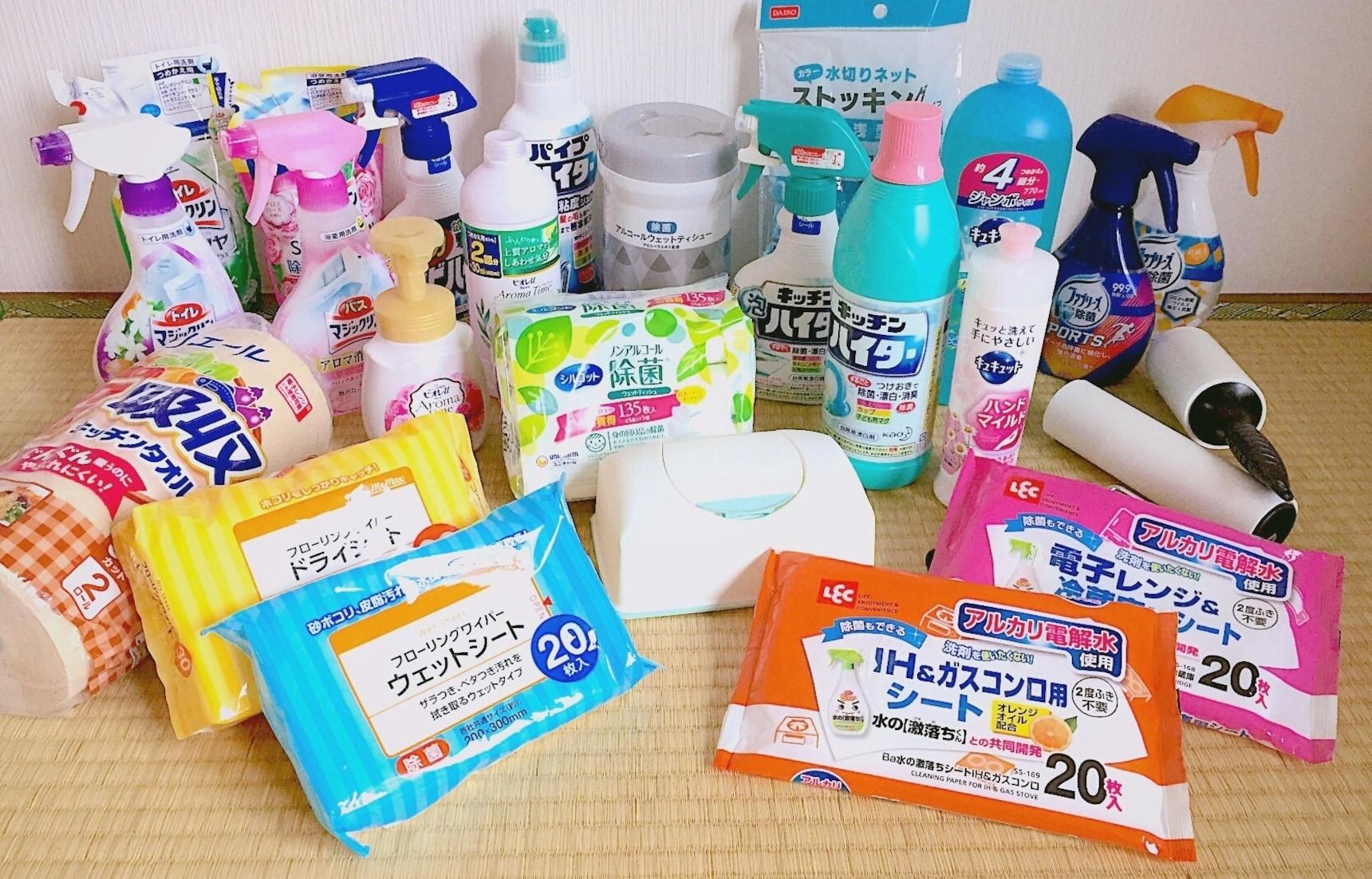 รวม 10 ไอเทมทำความสะอาดน่าซื้อจากญี่ปุ่น