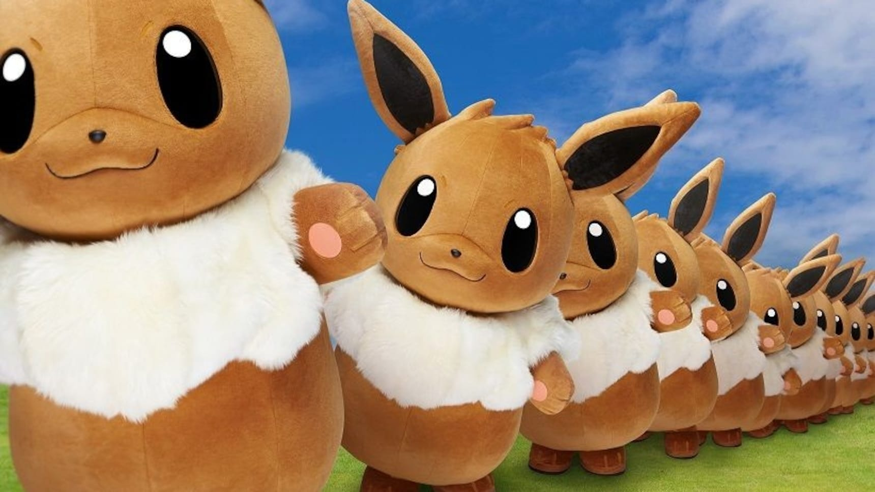 Eevee to Join Summertime Pokémon Extravaganza