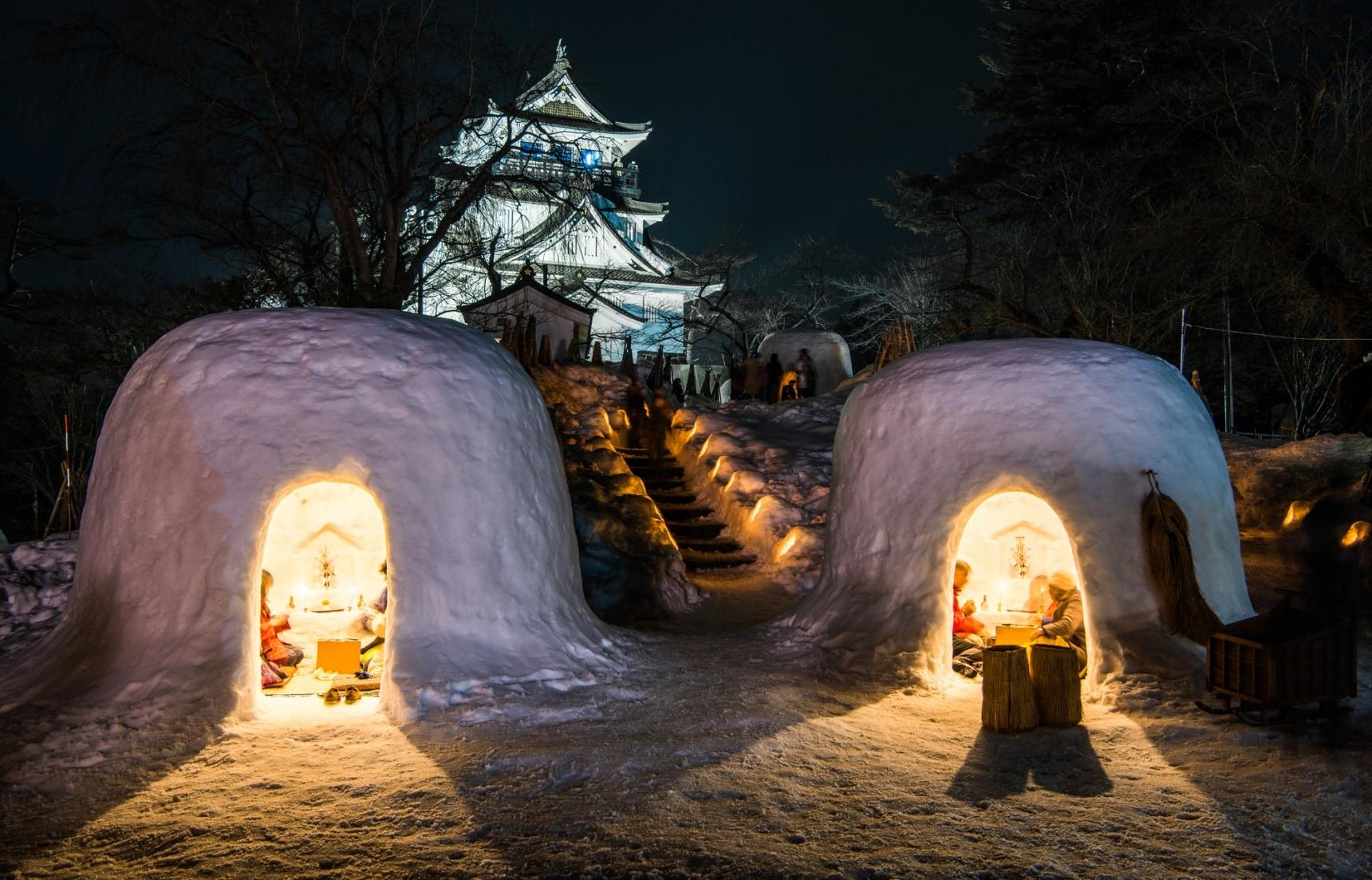 ชม 3 งานเทศกาลหิมะสุดยิ่งใหญ่ในญี่ปุ่น