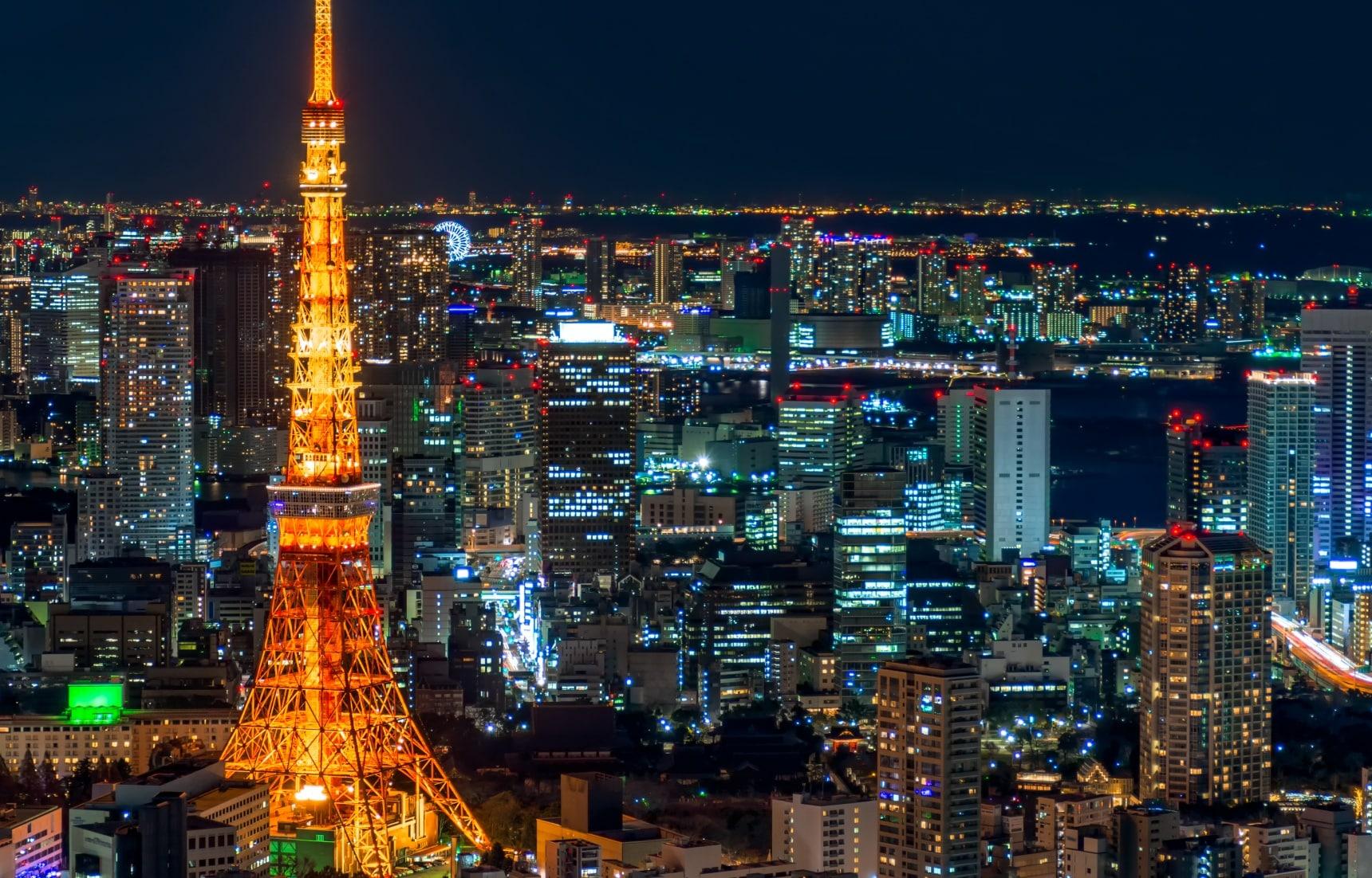 10 ที่เที่ยวที่เข้าฟรีในโตเกียว