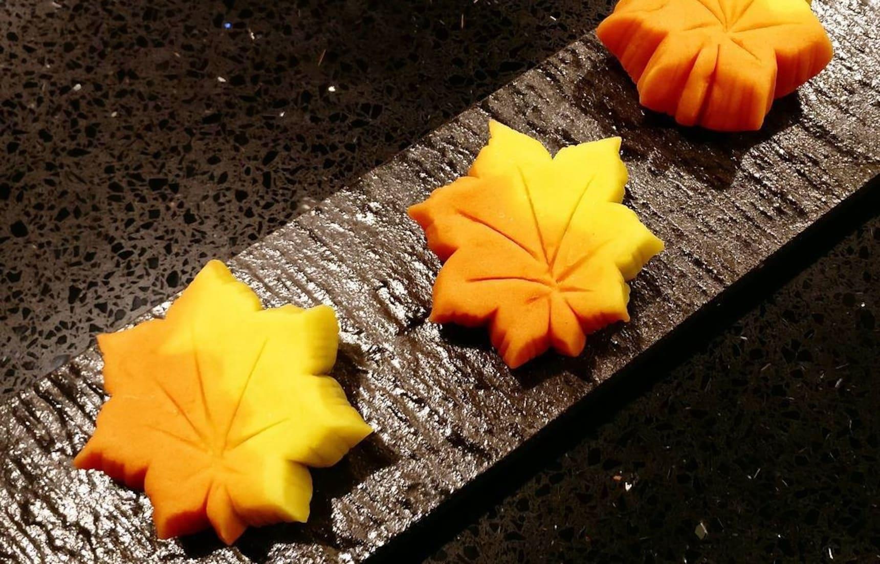 가을이 느껴지는 맛있는 화과자 9가지